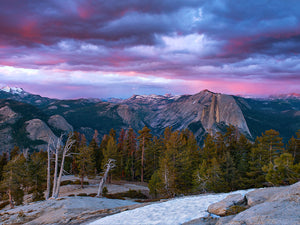 An Evening View of the High Sierra