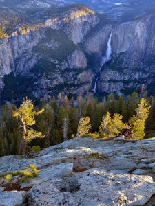 Yosemite Falls from Sentinel Dome
