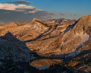Alpenglow over Cathedral Range, Yosemite