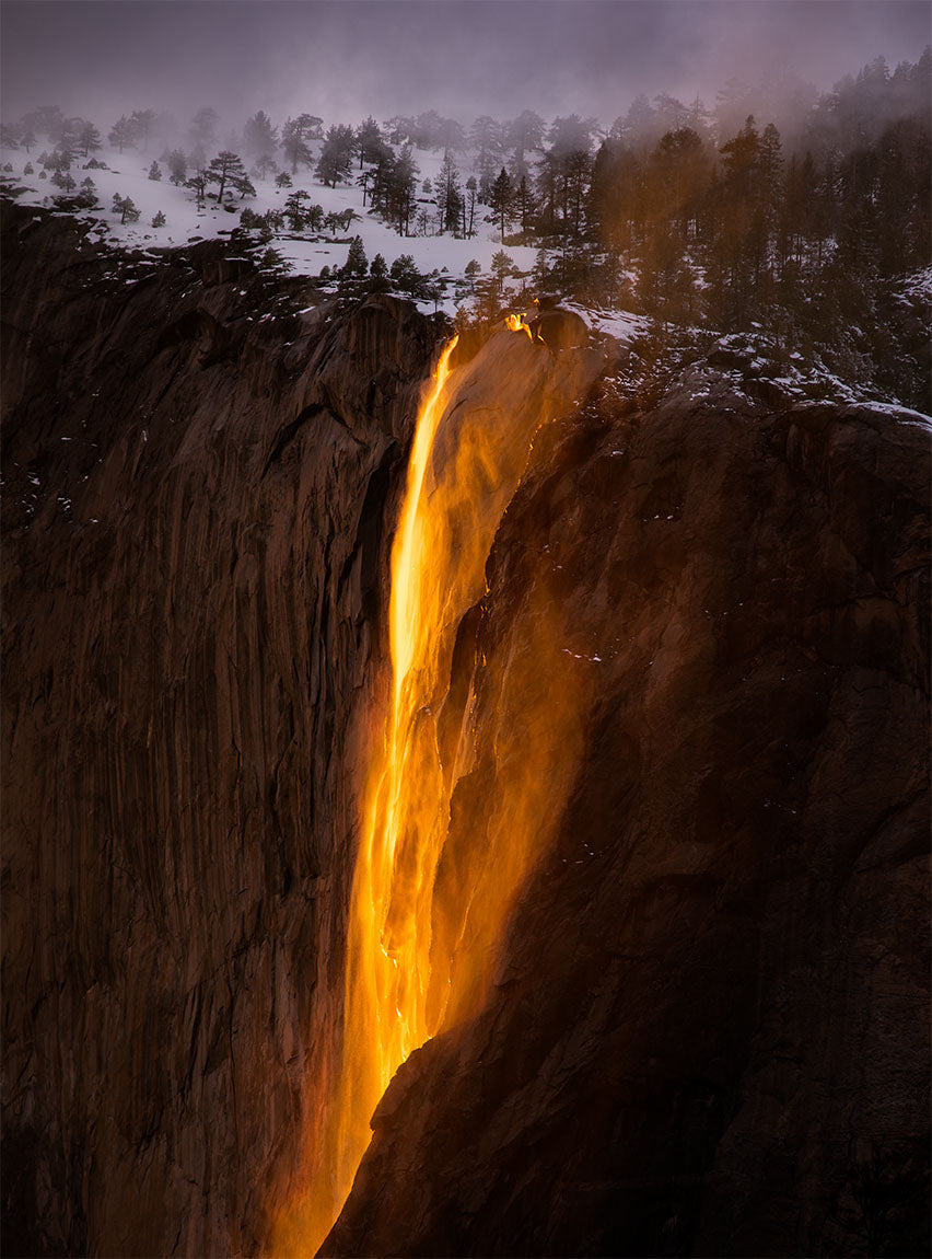 Last Light, Horsetail Fall