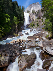Summer Morning, Vernal Fall