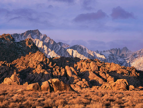 Lone Pine Peak and Alabama Hills
