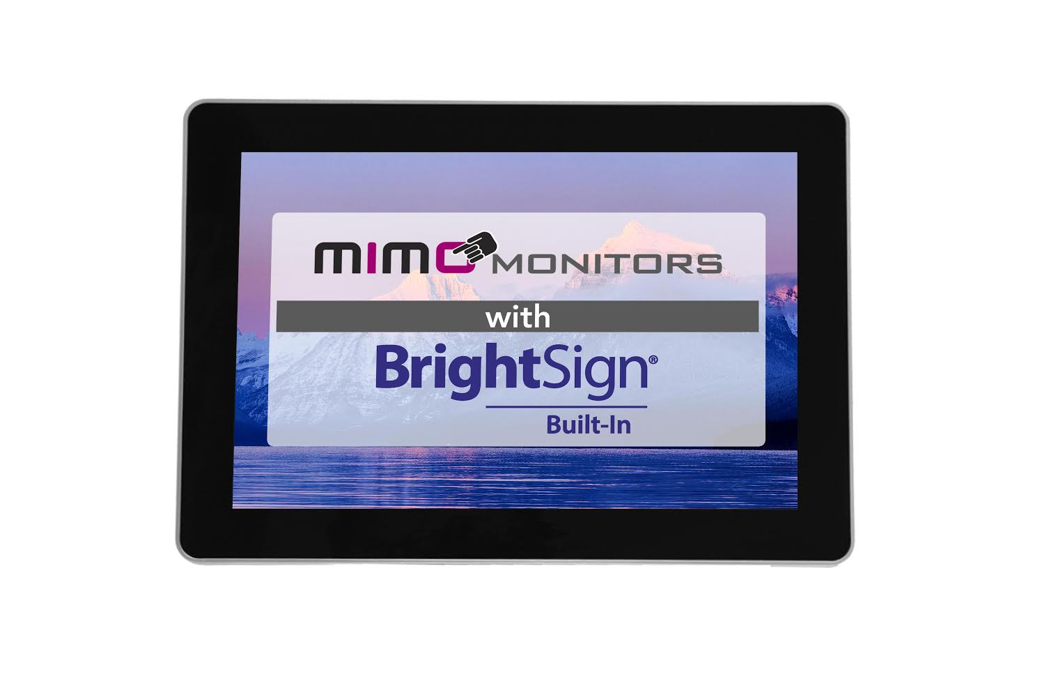 Launch of the Mimo Vue with BrightSign Built-In enclosed display