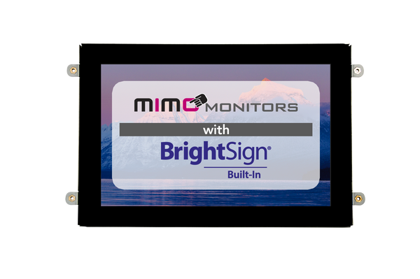 "10.1"" BrightSign Built-in Open Frame with Capacitive Touch 1280x800 Display (MBS-1080C-OF-POE, MBS-1080C-OF)"