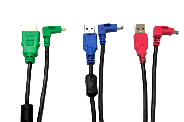 Cable Kit for UM-1080CP Family, Contains (1) each CBL-CP-HDMI, CBL-CP-USB3, CBL-CP-USBP, (CBL-CP-KIT)