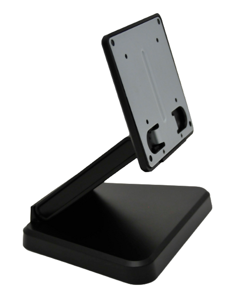 Tablet & Display Stand, Tilt Bracket, Black, for up to 10.1