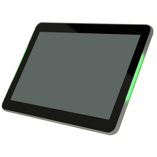 "Mimo Adapt-IQV 10.1"" Digital Signage Tablet with LEDs - RK3288 Processor (MCT-10HPQ-POE-L)"
