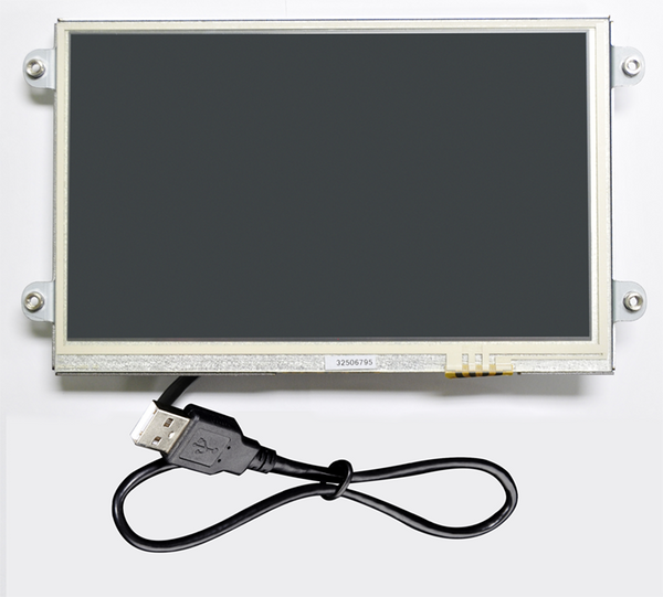 "7"" Open Frame USB Resistive Touch Display (UM-760RK-OF)"