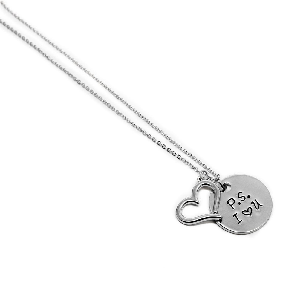 P.S. I Love You Charm Pendant - Allyanna Gifts