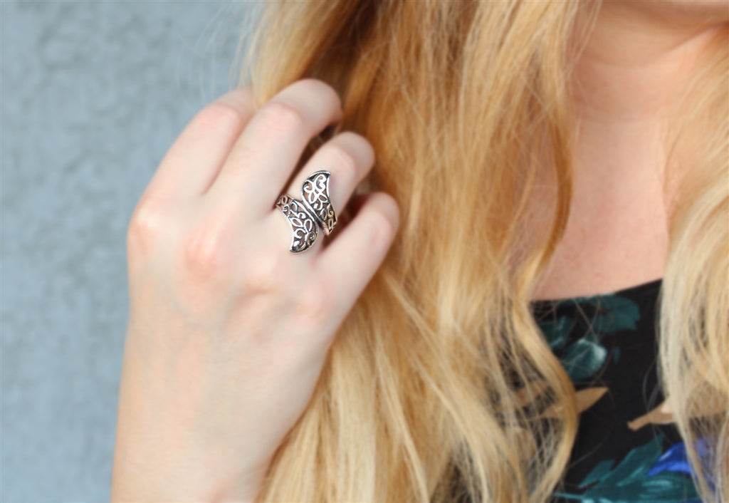 Intricacte Wrap Bohemian Accent Ring