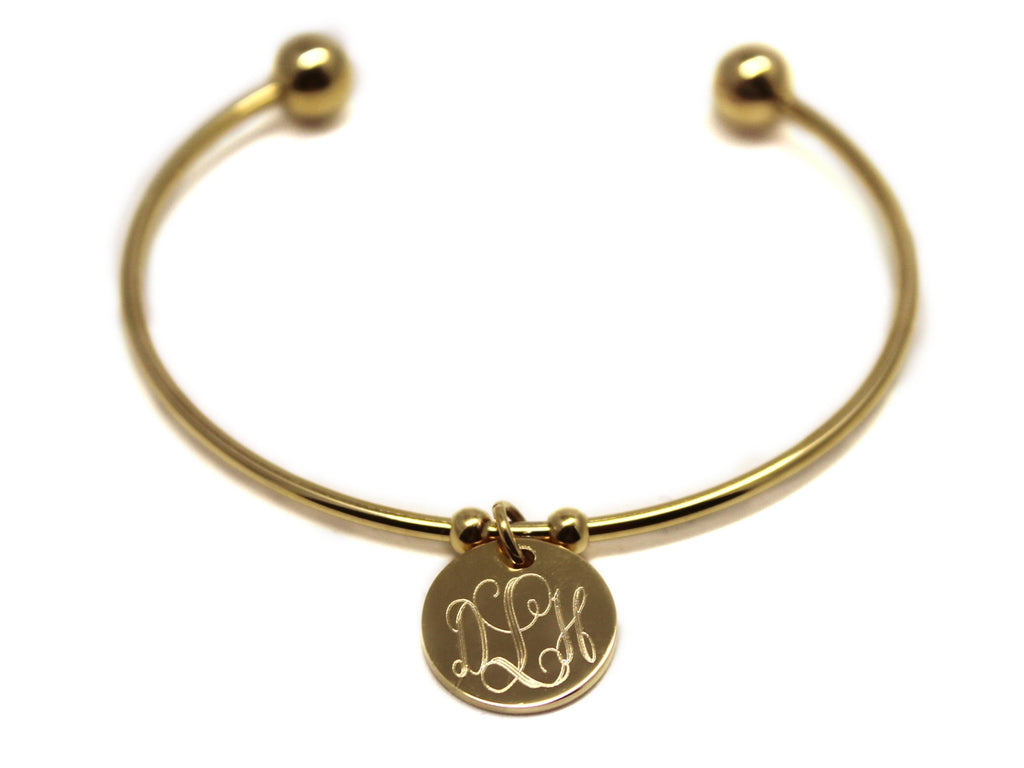 Stainless Steel Ball and Disc Bracelet - Allyanna Gifts