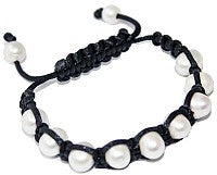 11 Pearl Leather Bracelet