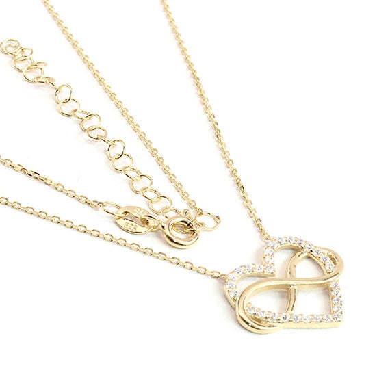 Sterling Silver Eternal Love Necklace