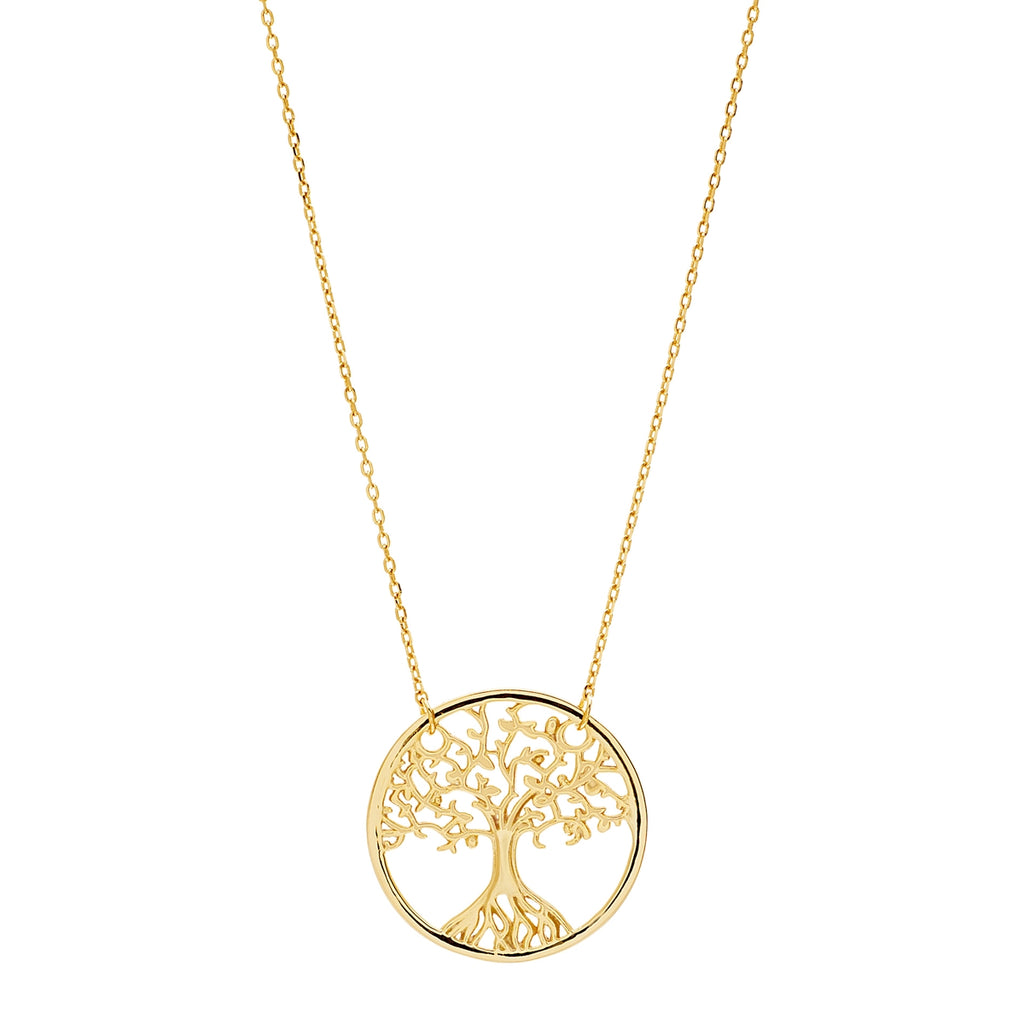 Tree Of Life Sterling Silver Necklace - Allyanna Gifts