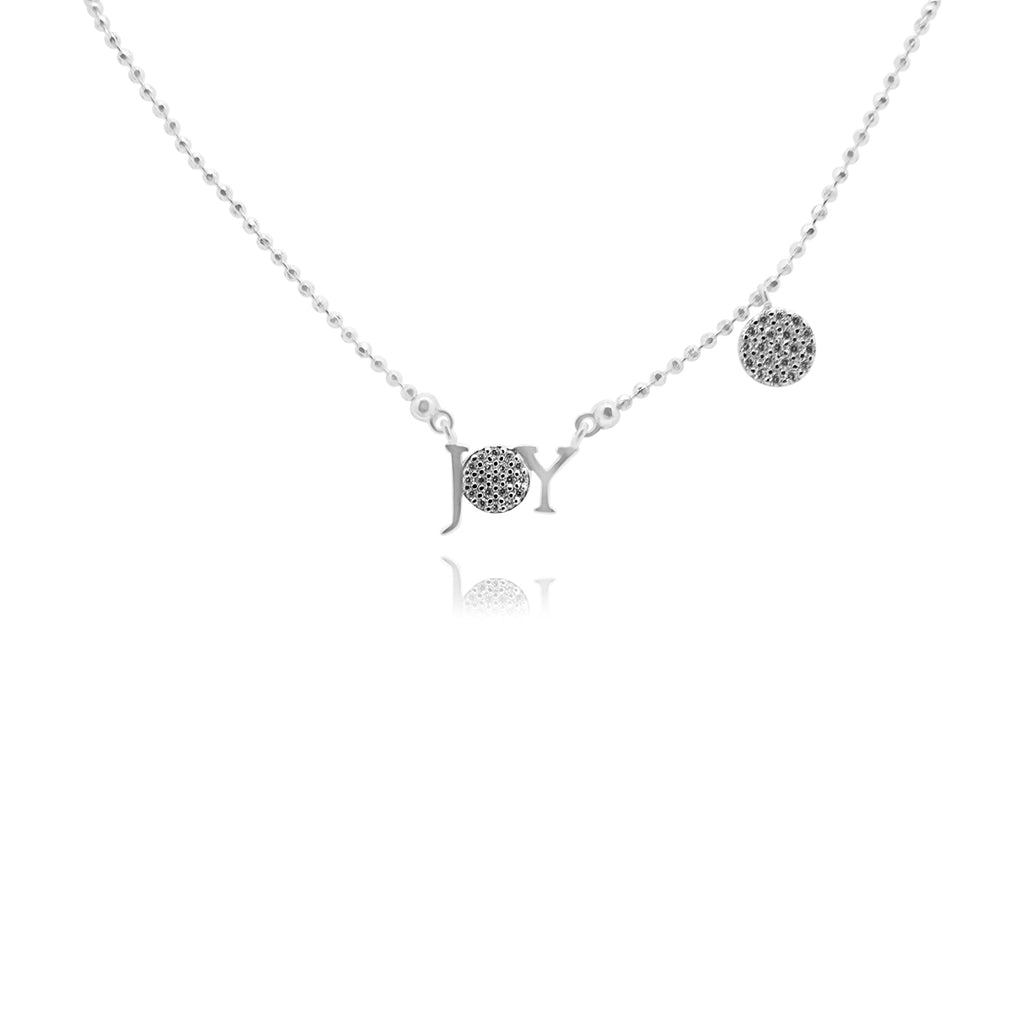 Sterling Silver Joy Necklace