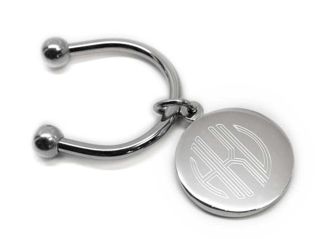 Engravable Horse Shoe Keychain - Allyanna Gifts
