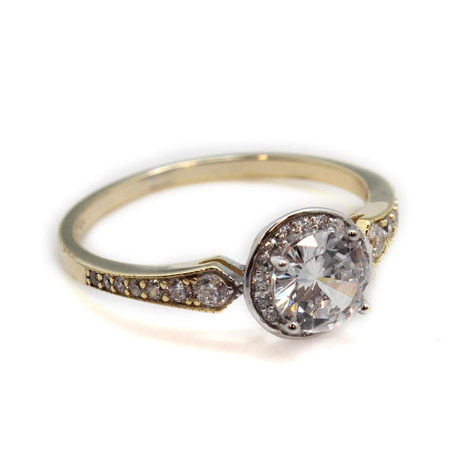 Renee CZ Ring - Allyanna Gifts
