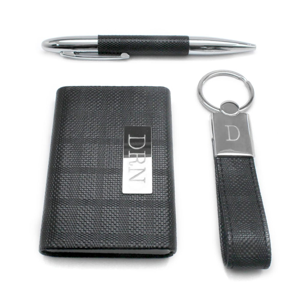 Men's Engravable Office Set - Allyanna Gifts