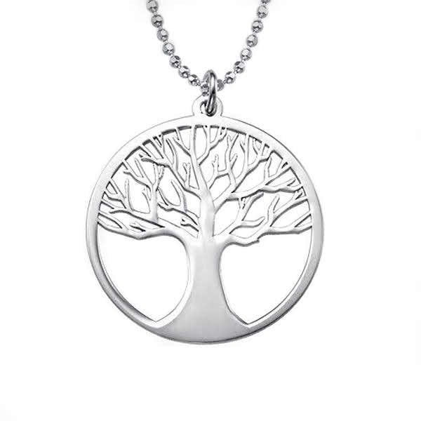 Sterling Silver Tree of Life Necklace - Allyanna Gifts