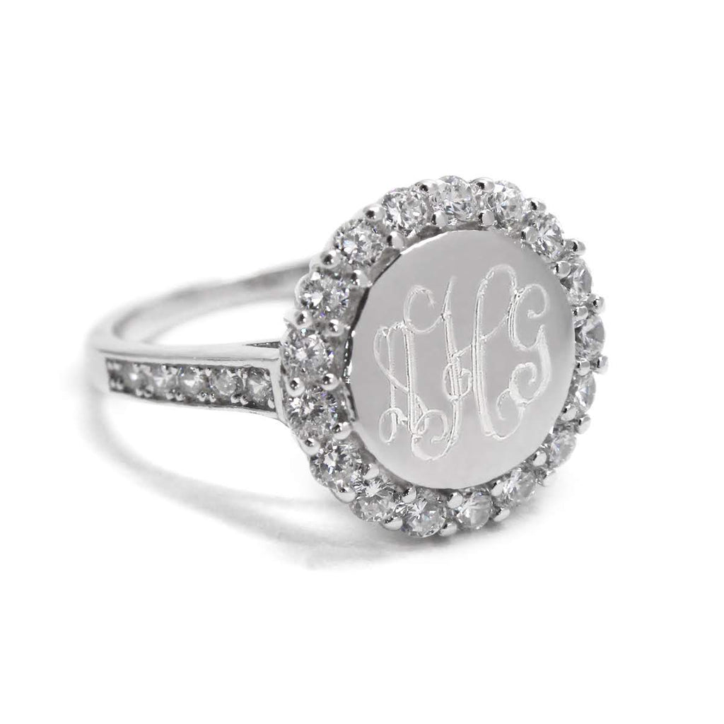 Sterling Silver Zoey CZ Ring