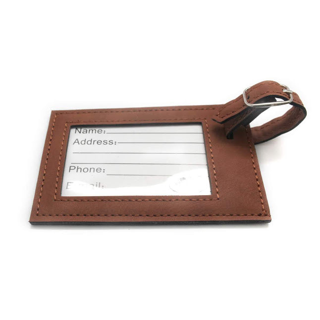 Men's Travel Luggage Tag - Allyanna Gifts