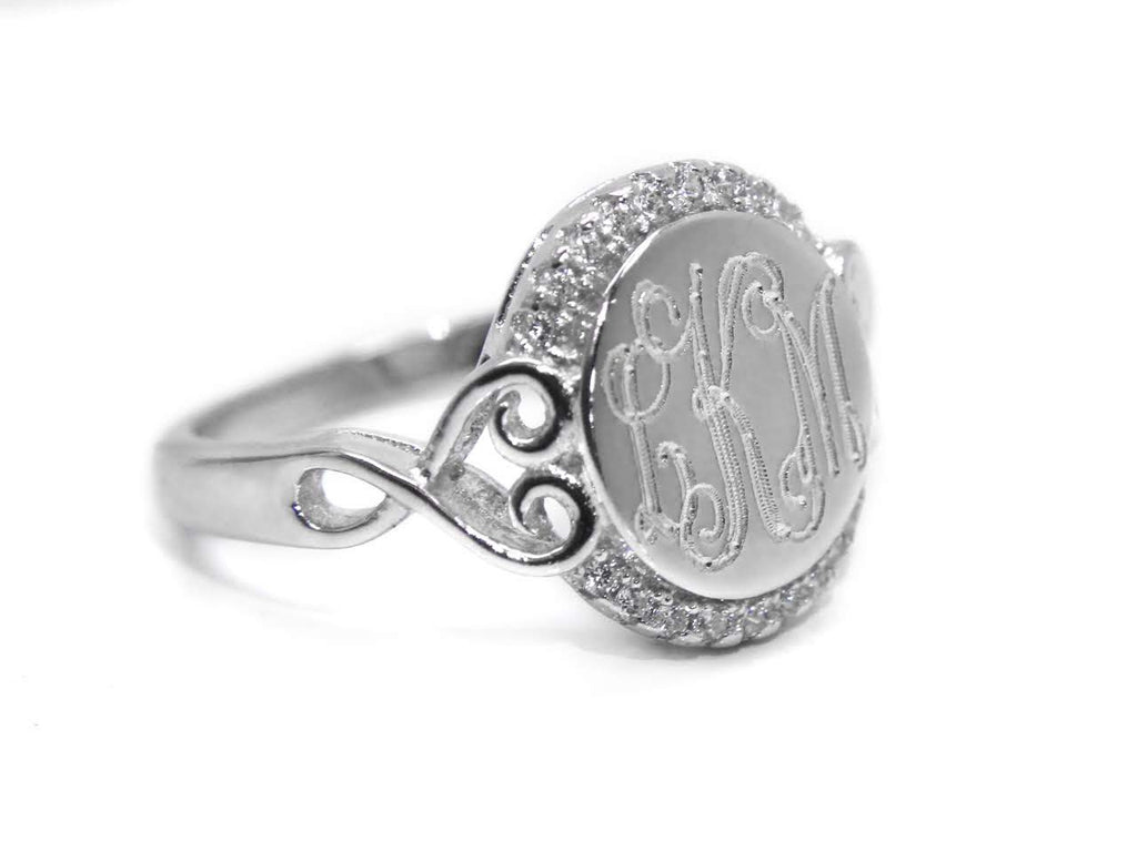 Sterling Silver Sweetheart Ring - Allyanna Gifts