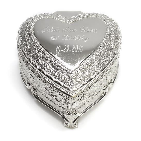 Heart Shaped Jewelry Box - Allyanna Gifts