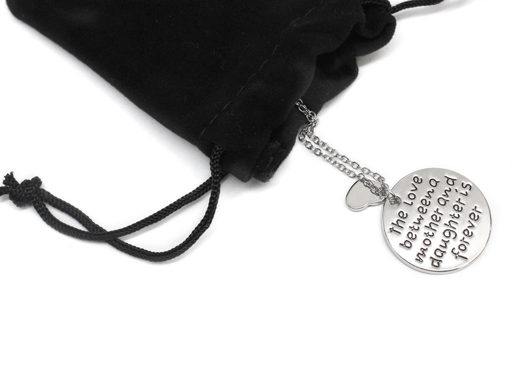 Love Between a Mother and Daughter Necklace - Allyanna Gifts
