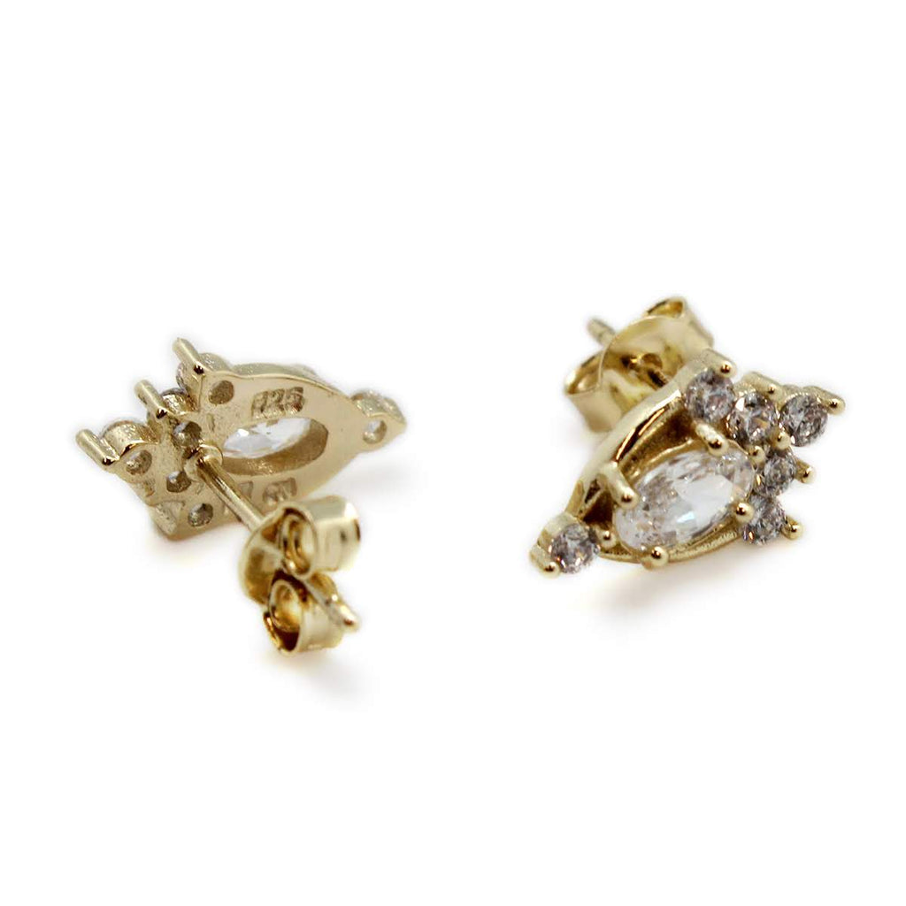 Regal CZ Earrings - Allyanna Gifts