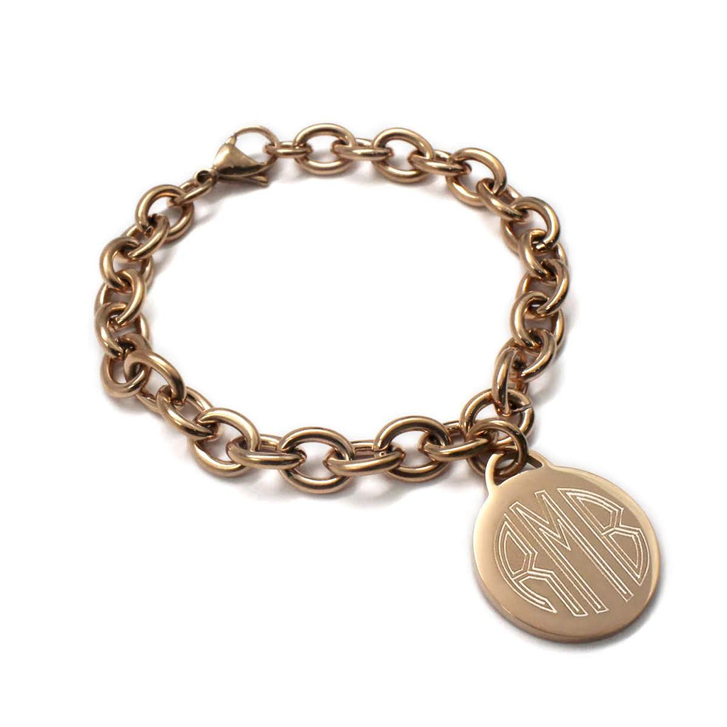 Stainless Steel Link Bracelet - Allyanna Gifts