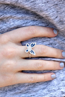 Blake Butterfly Ring - Allyanna Gifts