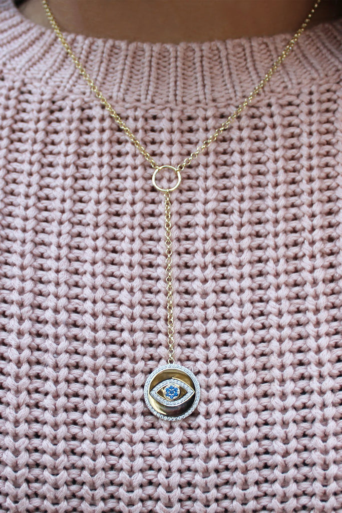 Evil Eye Pendant Necklace - Allyanna Gifts