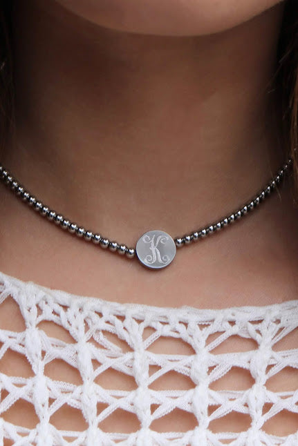 Taylor Beaded Choker Necklace - Allyanna Gifts