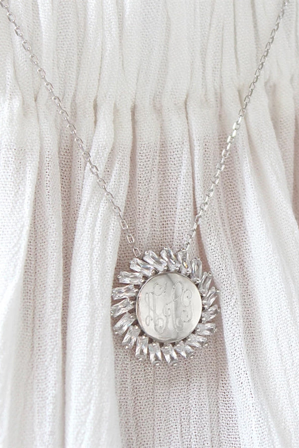 Sterling Silver Sun Necklace - Allyanna Gifts