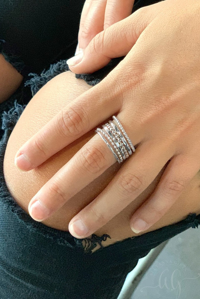 Emma Stackable Ring Set - Allyanna Gifts