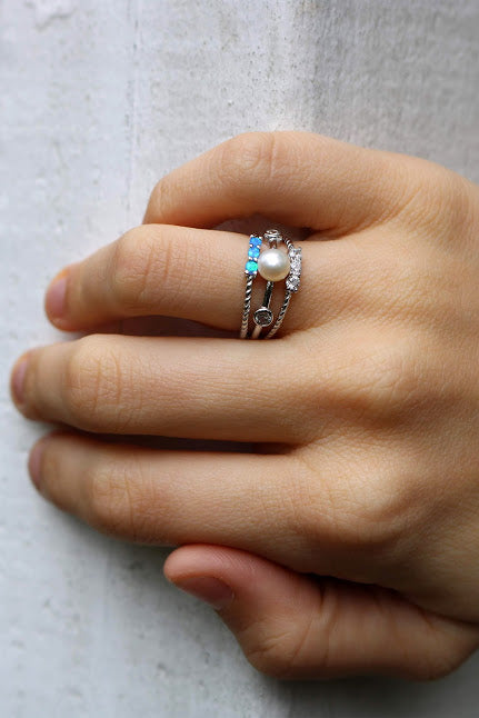 Gigi Stackable Ring - Allyanna Gifts