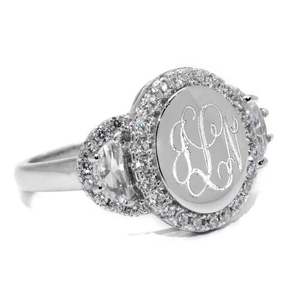 Sterling Silver Olivia Ring - Allyanna Gifts