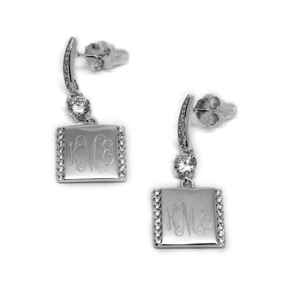 Sterling Silver Divine Dangle Earrings