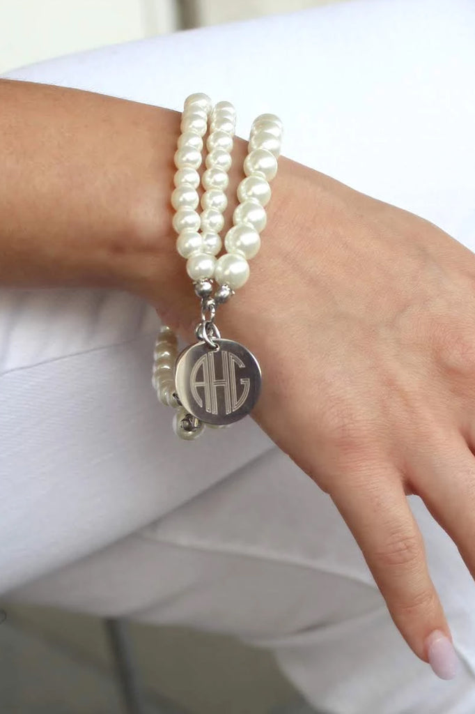 Layered Pearl Bracelet - Allyanna Gifts