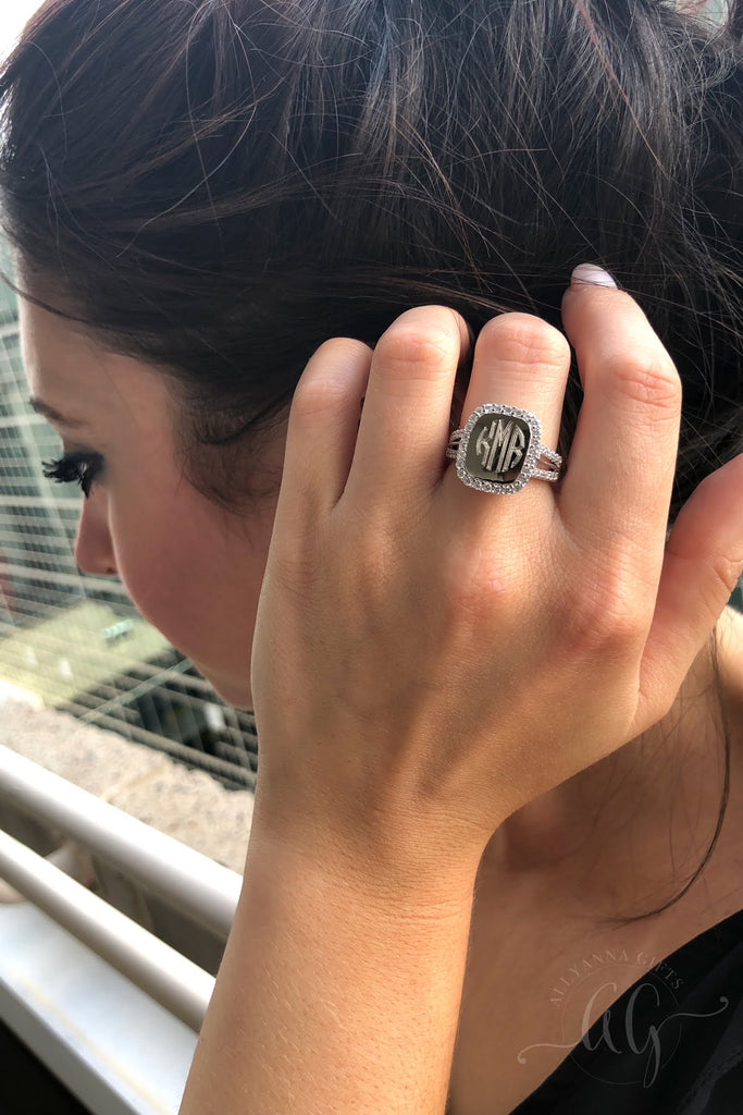 Sterling Silver Radiance Ring