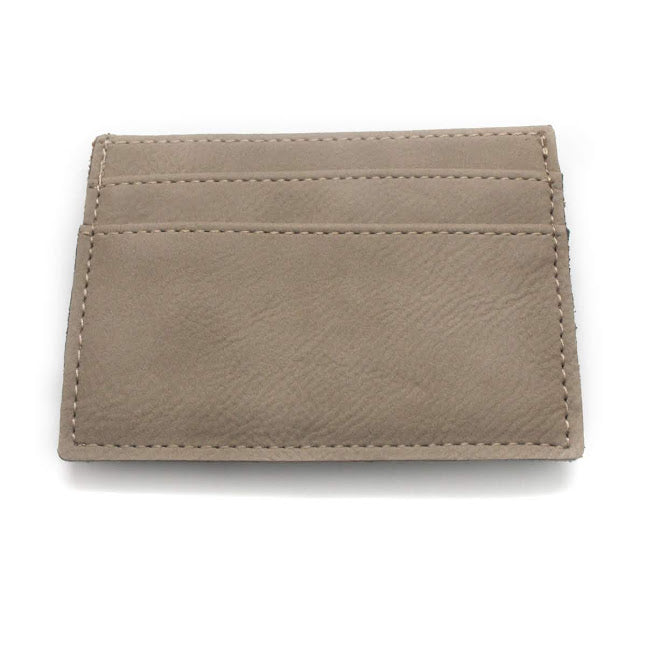 Men's Leather Clip Cardholder - Allyanna Gifts