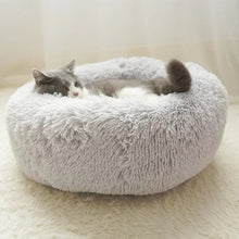 Warm Fleece Dog Bed 4 Sizes Round Pet Lounger Tyteps Cushion For Medium Large Dogs & Cat Winter Dog Kennel Puppy Mat Ped Bed