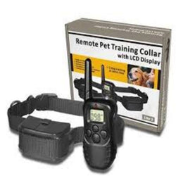 4 IN 1 Training Collar - Up to 2 Dogs - Battery Operated - Working Range up to 300 Metre's