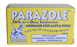 Parazole 100ml Liquid Wormer - Dogs & Cats