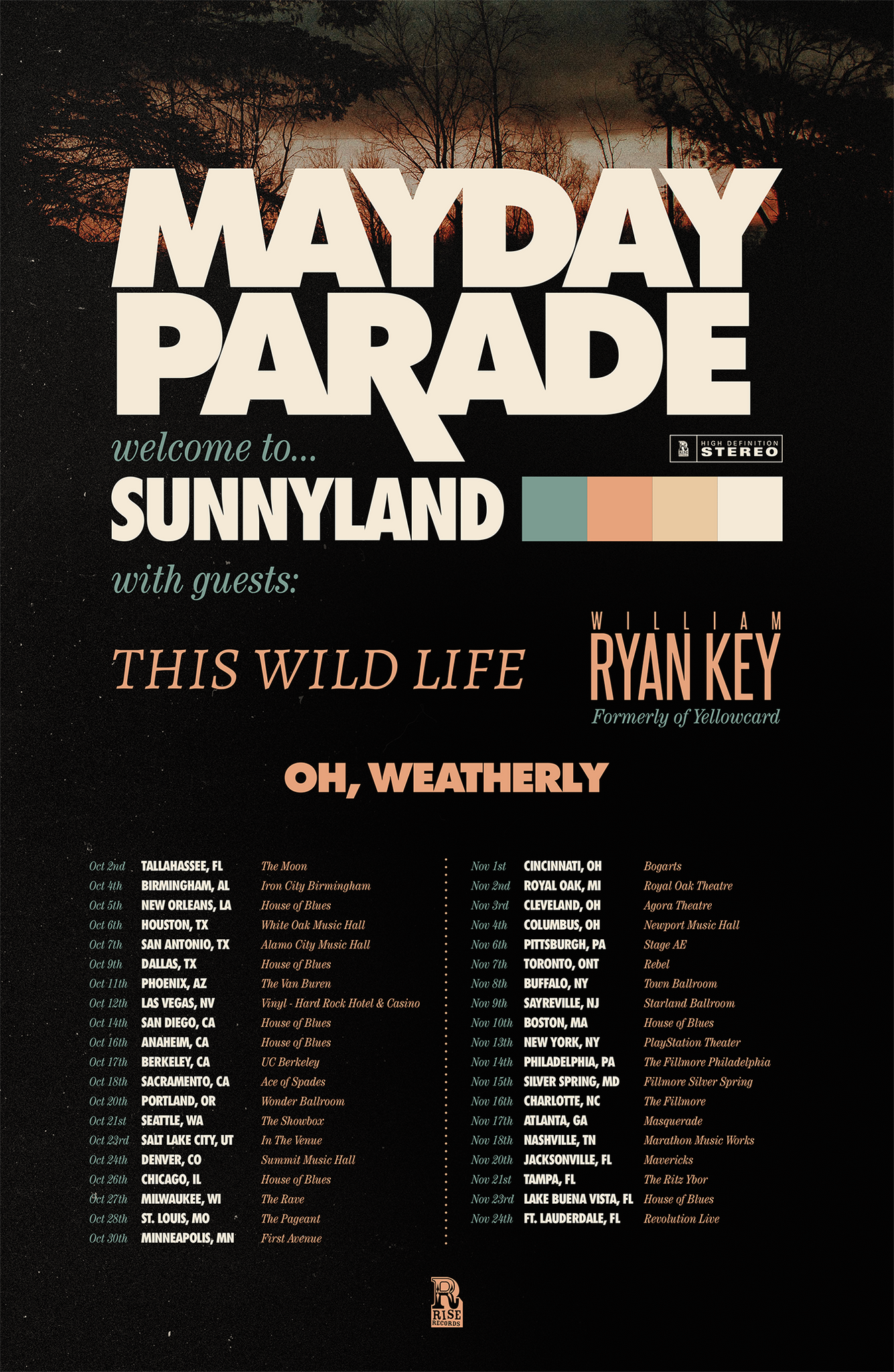10062018 houston tx white oak music hall mayday parade ticket 10062018 houston tx white oak music hall mayday parade ticketless vip packages m4hsunfo