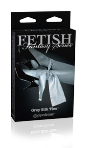 Fetish Fantasy Series Limited Edition Grey Silk Ties PD4418-25
