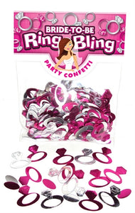 Bride-to-Be Ring Bling Party Confetti BC-PP01