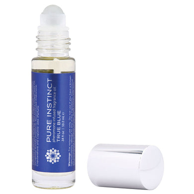 Pure Instinct Pheromone Fragrance Oil True Blue - Roll on 10.2 ml | 0.34 Fl. Oz JEL4000-10