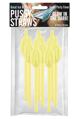 Pussy Straws - Glow in the Dark HTP3083