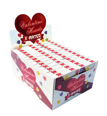 Valentine Hearts X-Rated Candy - 24 Count Display HTP2991D